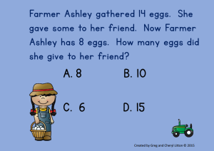 Farm Math Power Point