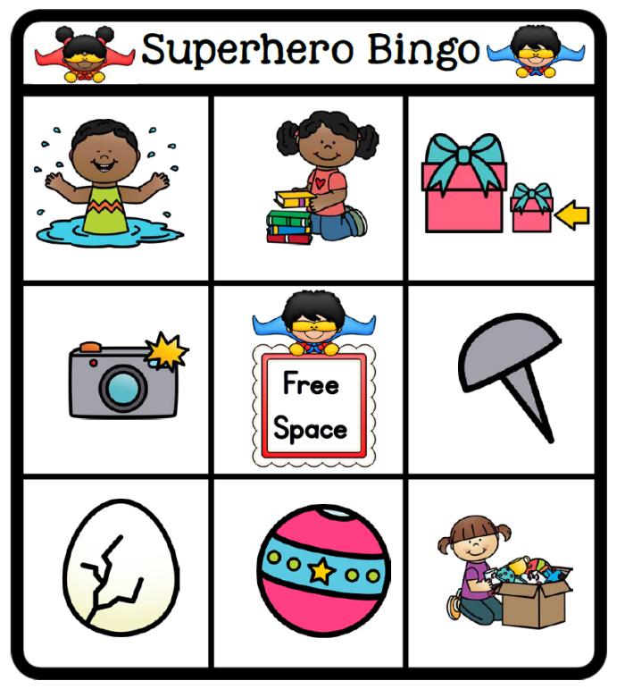 bingo board 2